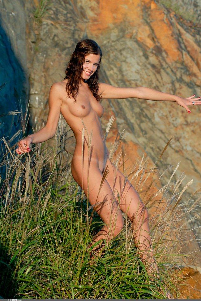 фотосессия женская голая грудь