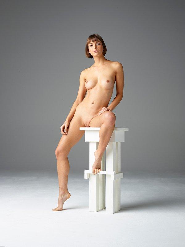 Фотосессия голая в студии