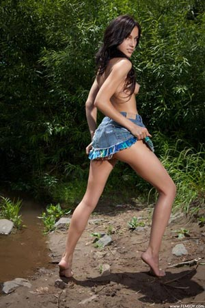 Фотосет Megan E - Get Naked
