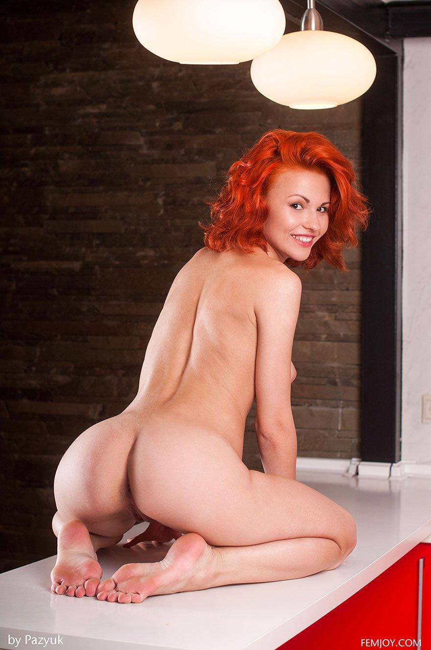 Эротические фото рыжей в домашних условиях