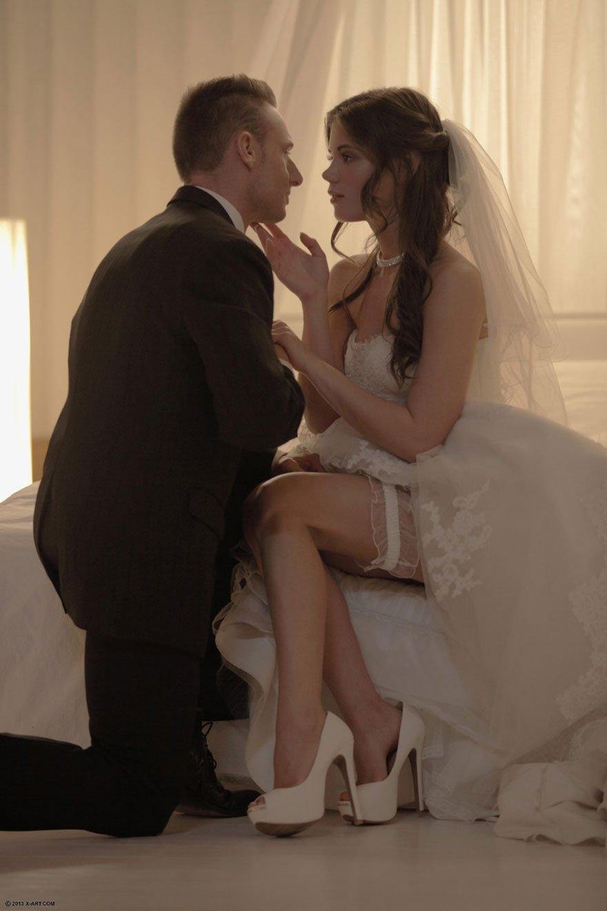 Порно фото очаровательной русской невесты