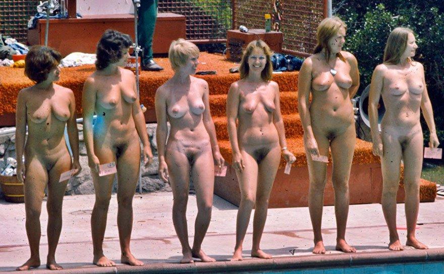Много голых девушек - частные фото