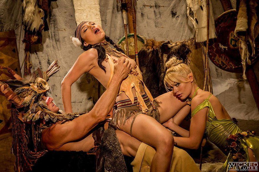 Плен индейцы эротика