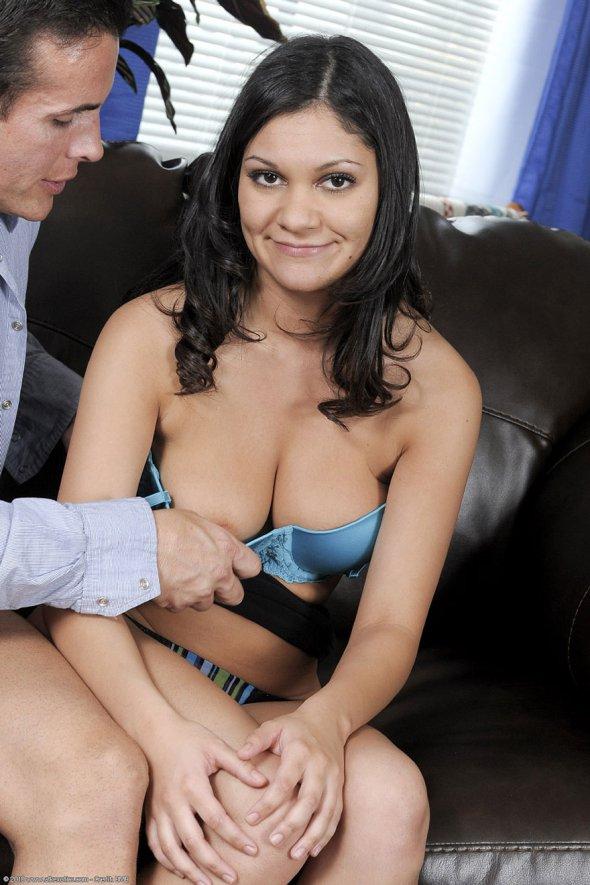 женщина в белом порно