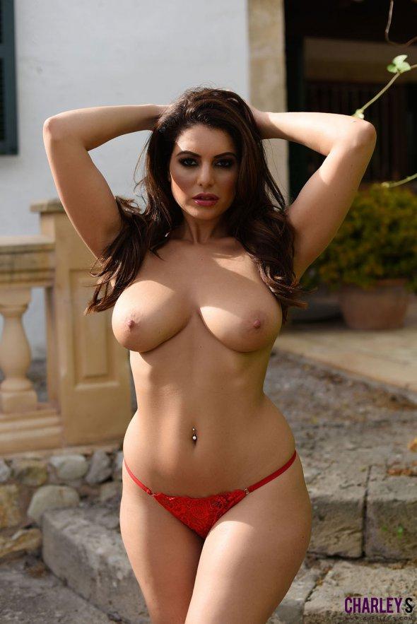 фото шикарных голых женщин в чулках