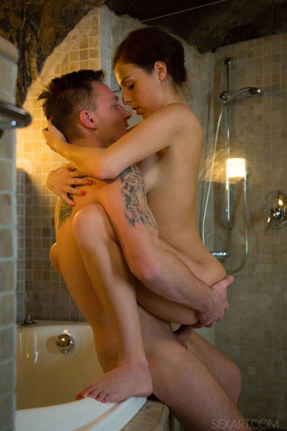 секс в ванной смотреть фото