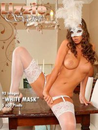 Фотосет Lizzie Ryan - White mask