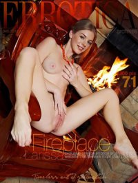 Фотосет Larissa - In Fireplace