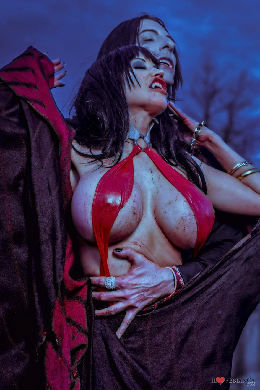 Vampirella s large naked tits porn pictures