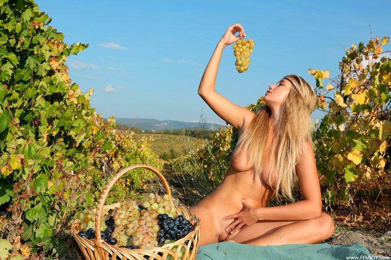 Порно красивое виноград