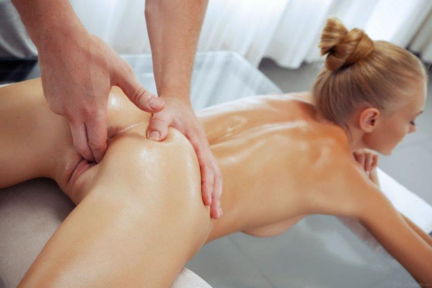 Смотреть попа массаж порнуха
