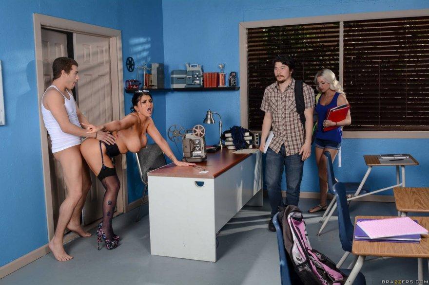 Секс на съемках порно-фильма