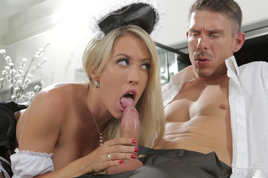 Эро супер-сексуальной горничной секс фото