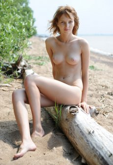 Фото голая девушка и бревна — img 5