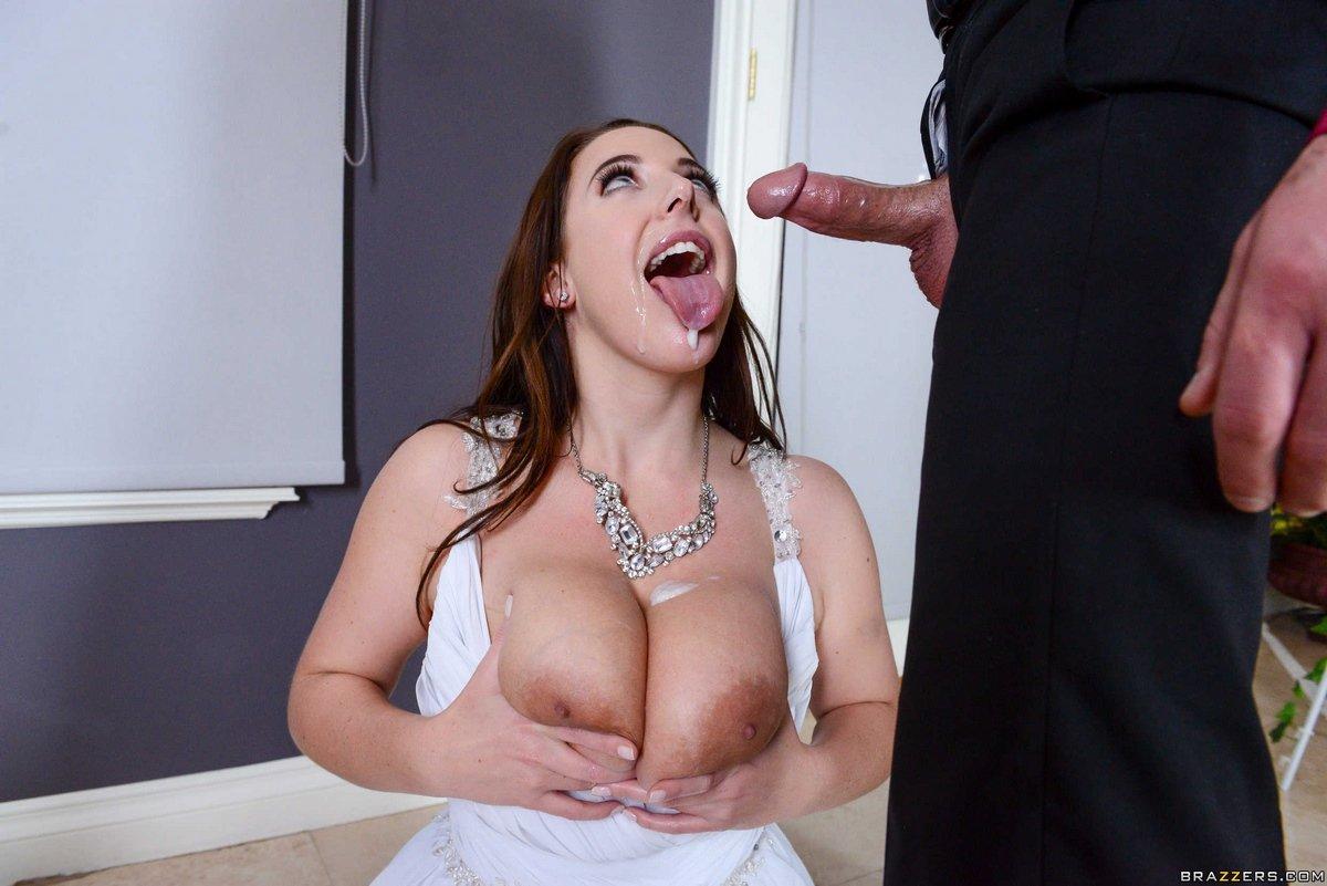 Нежное порно невесты с крупными сисями