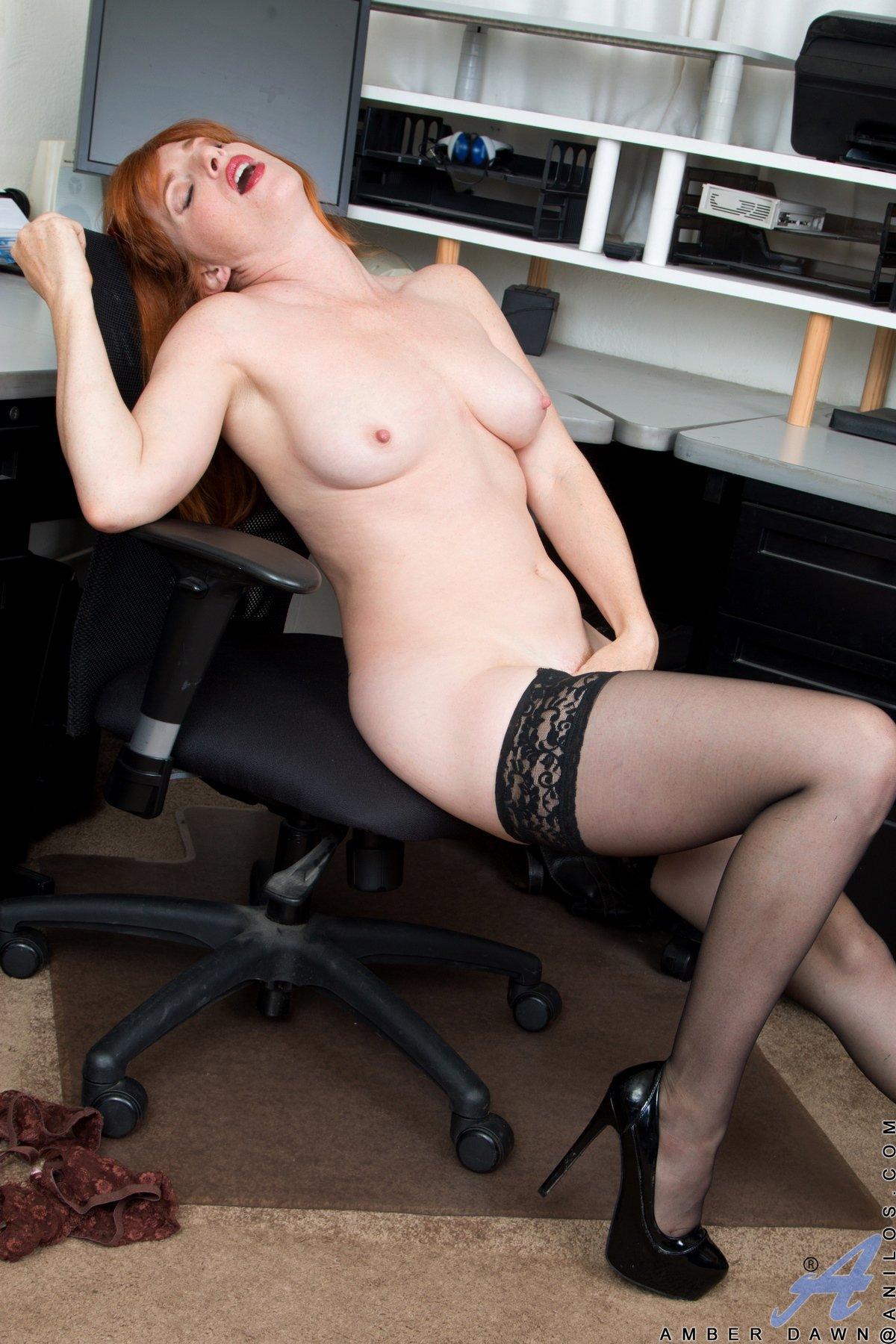Nude nasty secretary