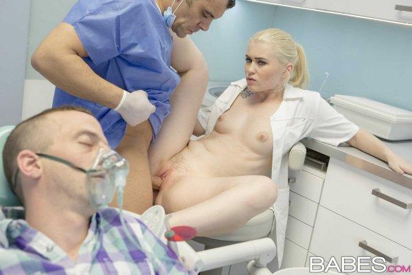 Dentist sleepy porn