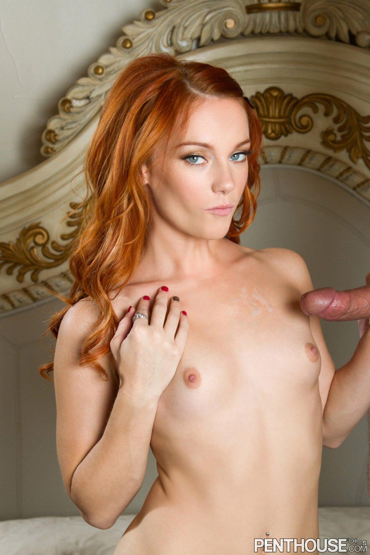 Страстный секс с рыжей девицей