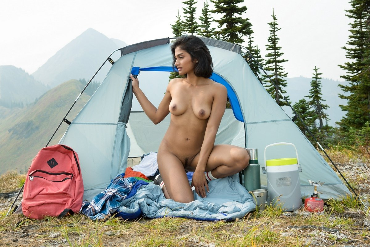 Wild nude camping
