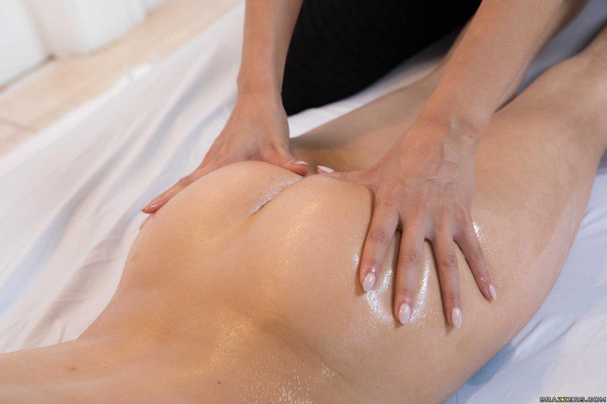 Порнуха массаж смотреть попа